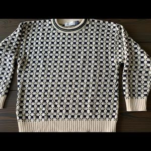 Men's Bill Blass Large cotton sweater